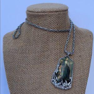 Chloe + Isabel Ocean Lace Pendant Necklace